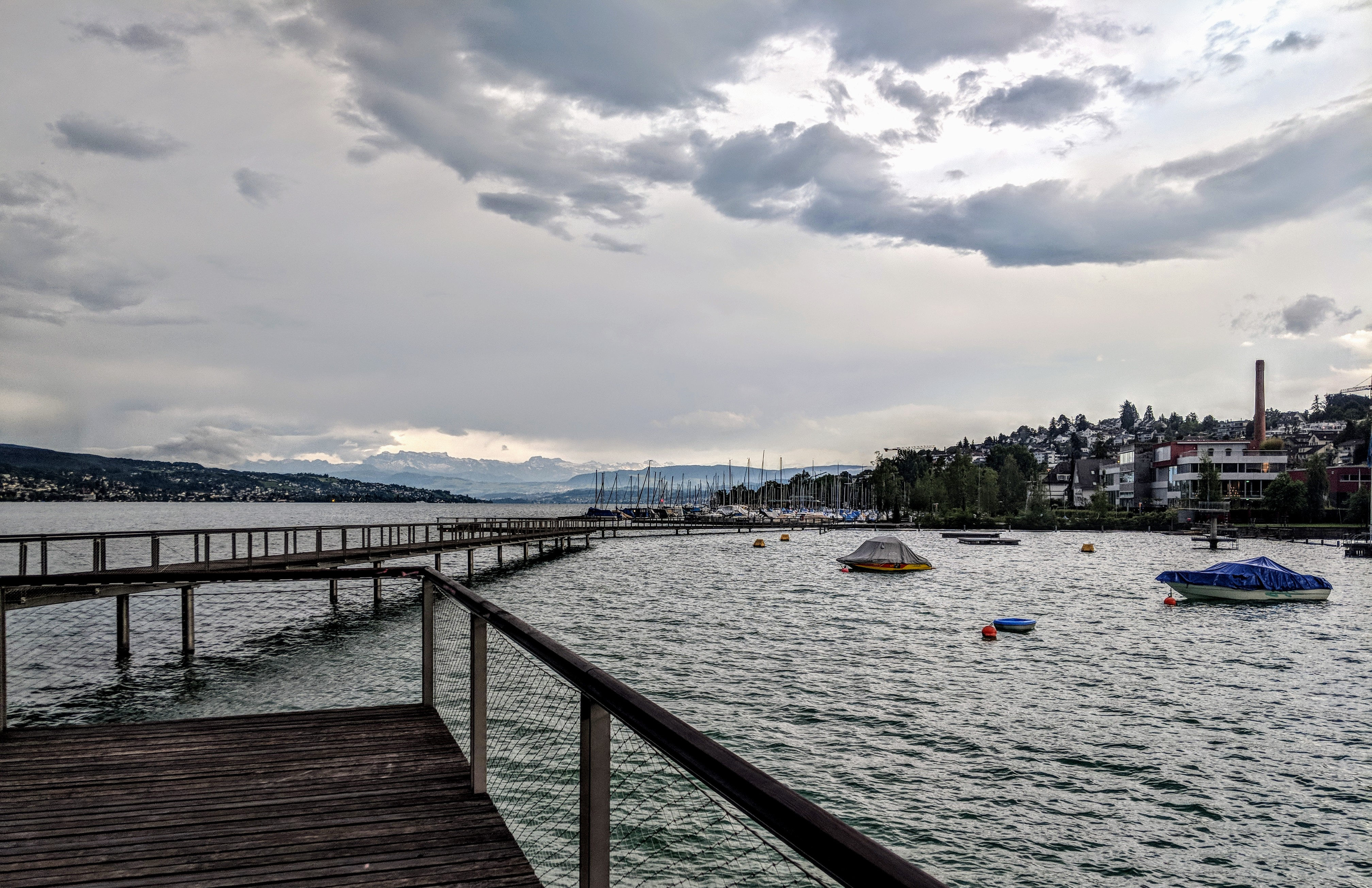 Running route in Zurich - Footbridge2