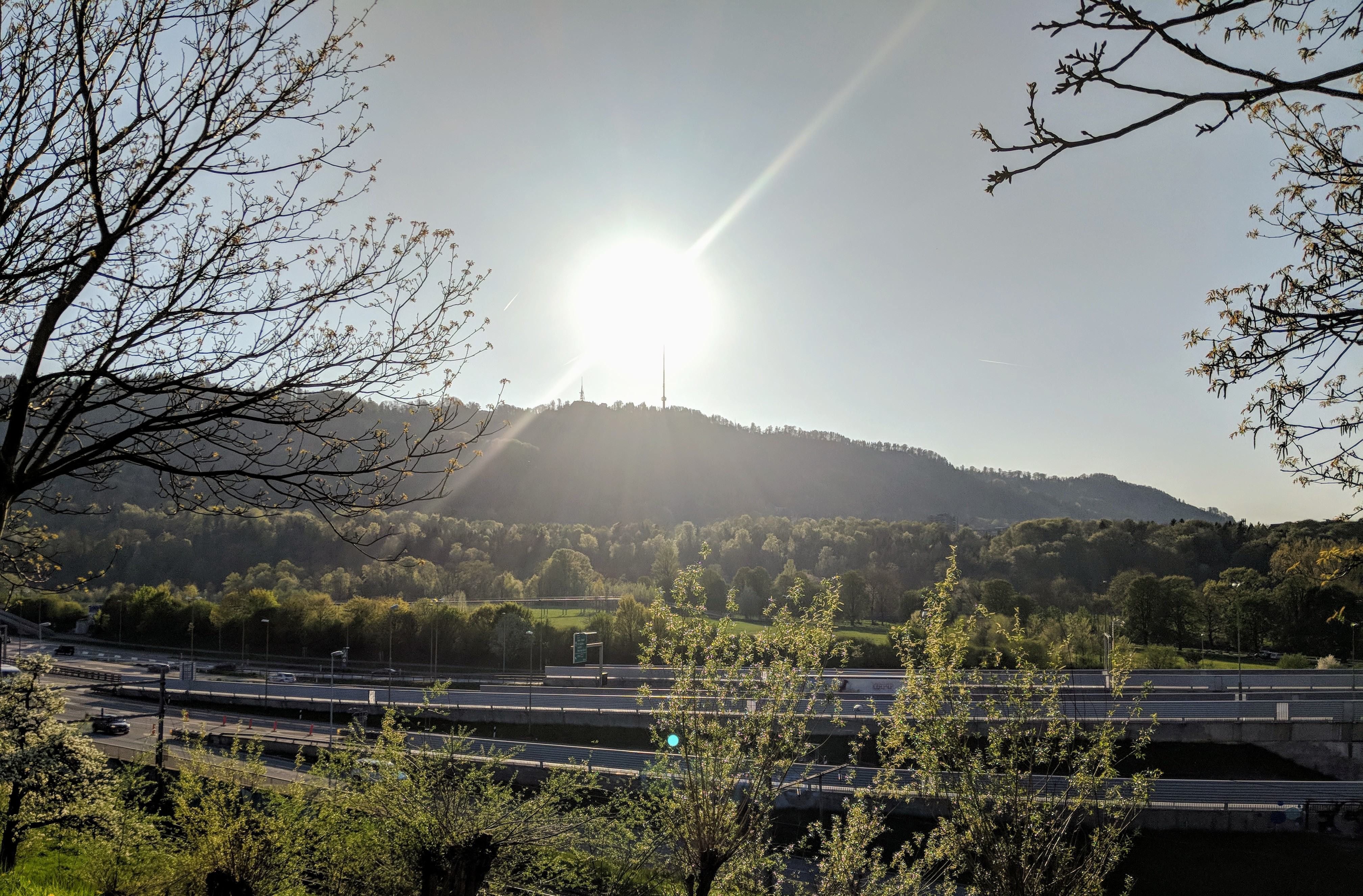 Running route in Zurich - View On Uetliberg2