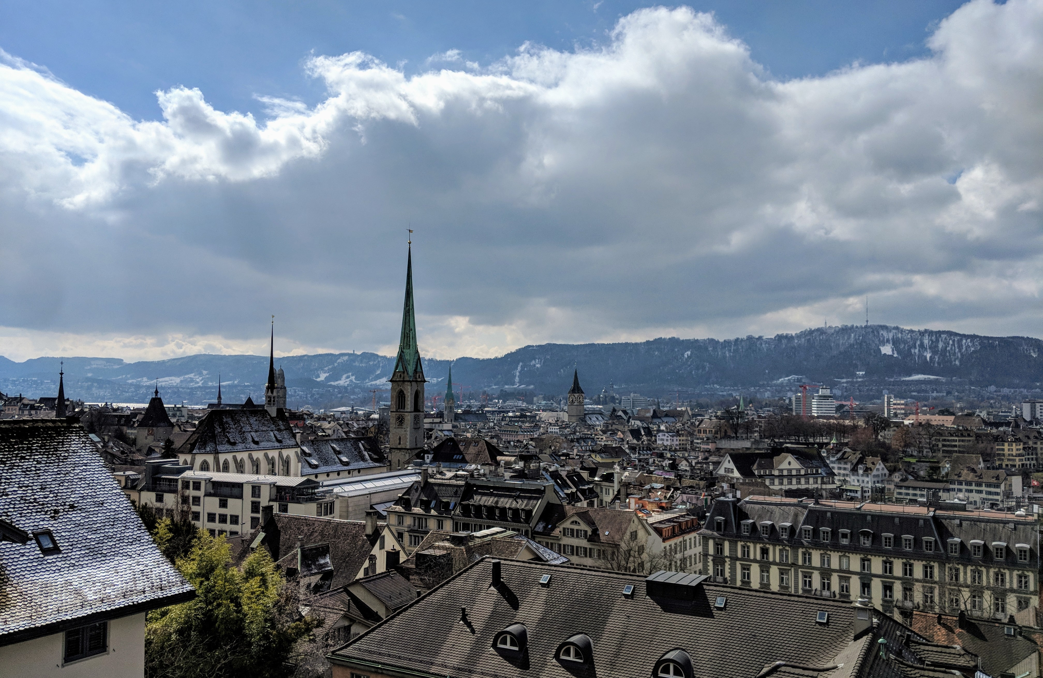 Running route in Zurich - Hotel running route - View from ETH