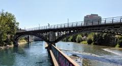 Running route in Zurich - Hotel Alexander running route - Limmat