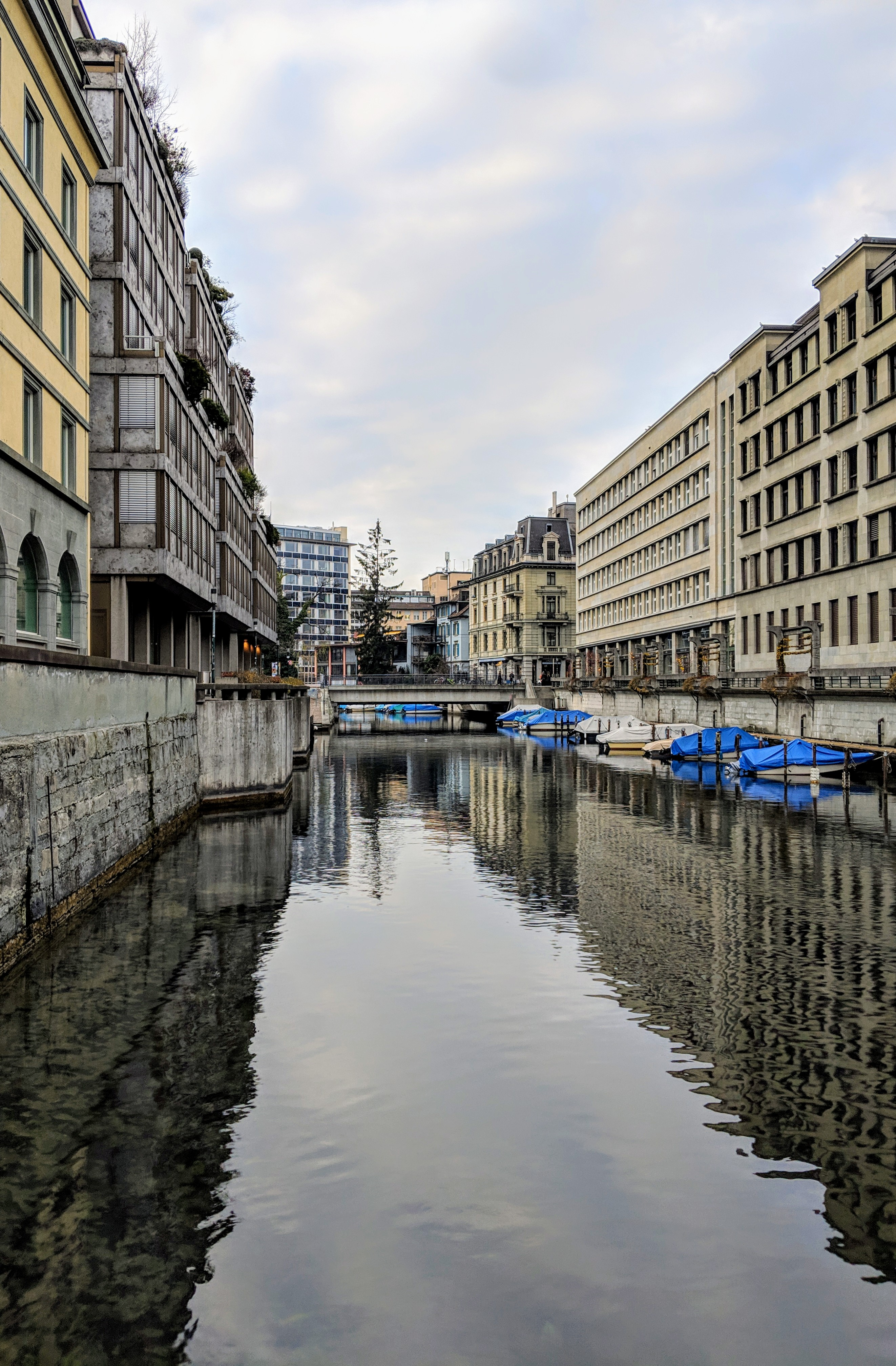 Running route in Zurich - Hotel running route - Schanzengraben