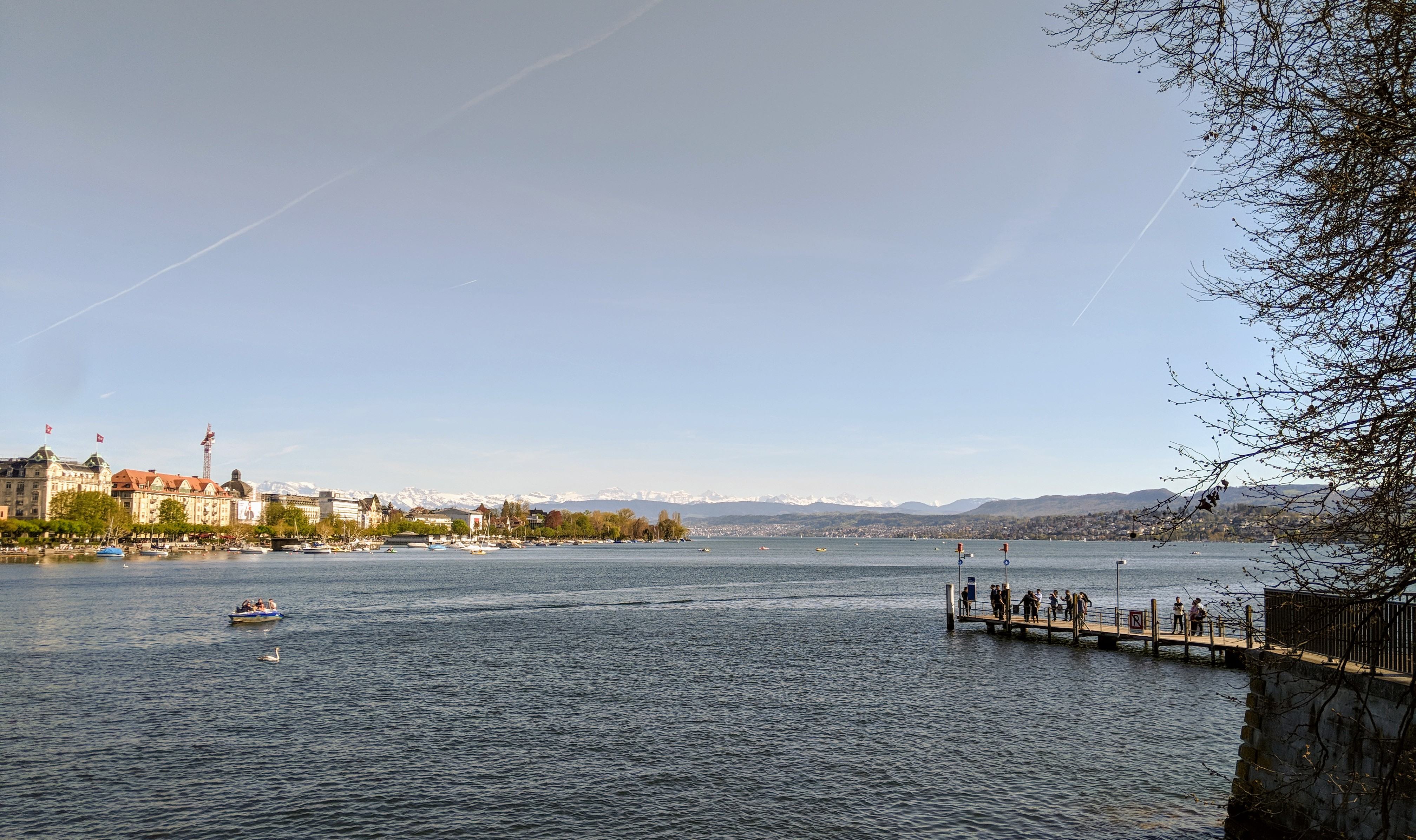 Running route in Zurich - Hotel running route - Quai Bridge