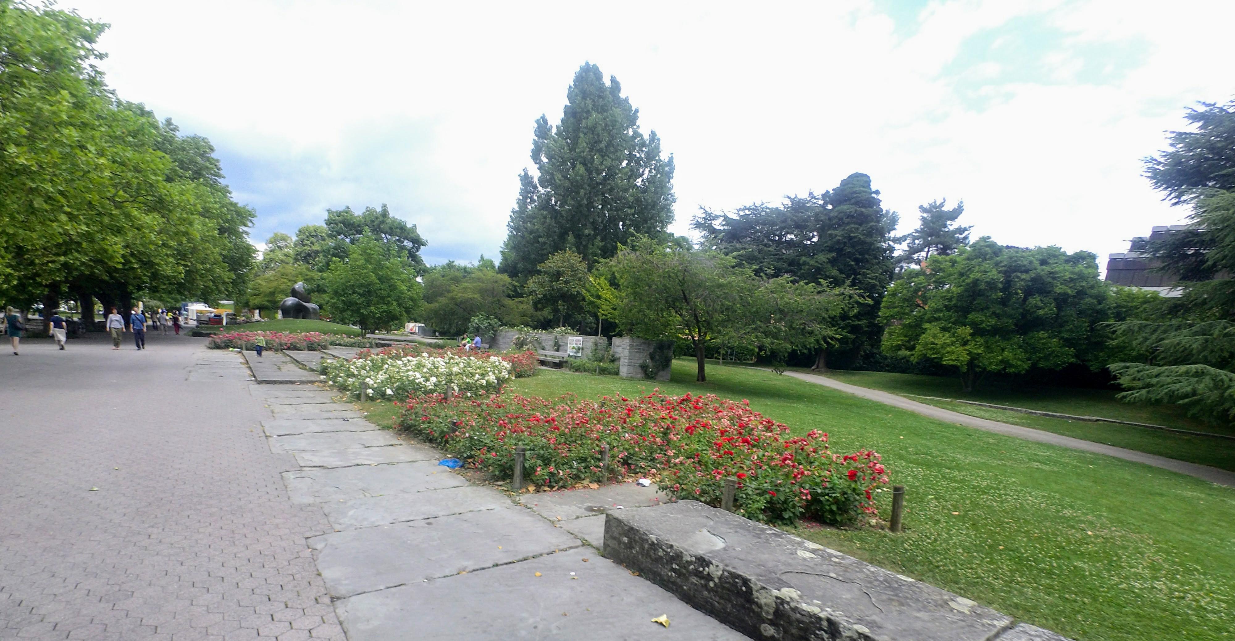 Running route in Zurich - Chinese Garden