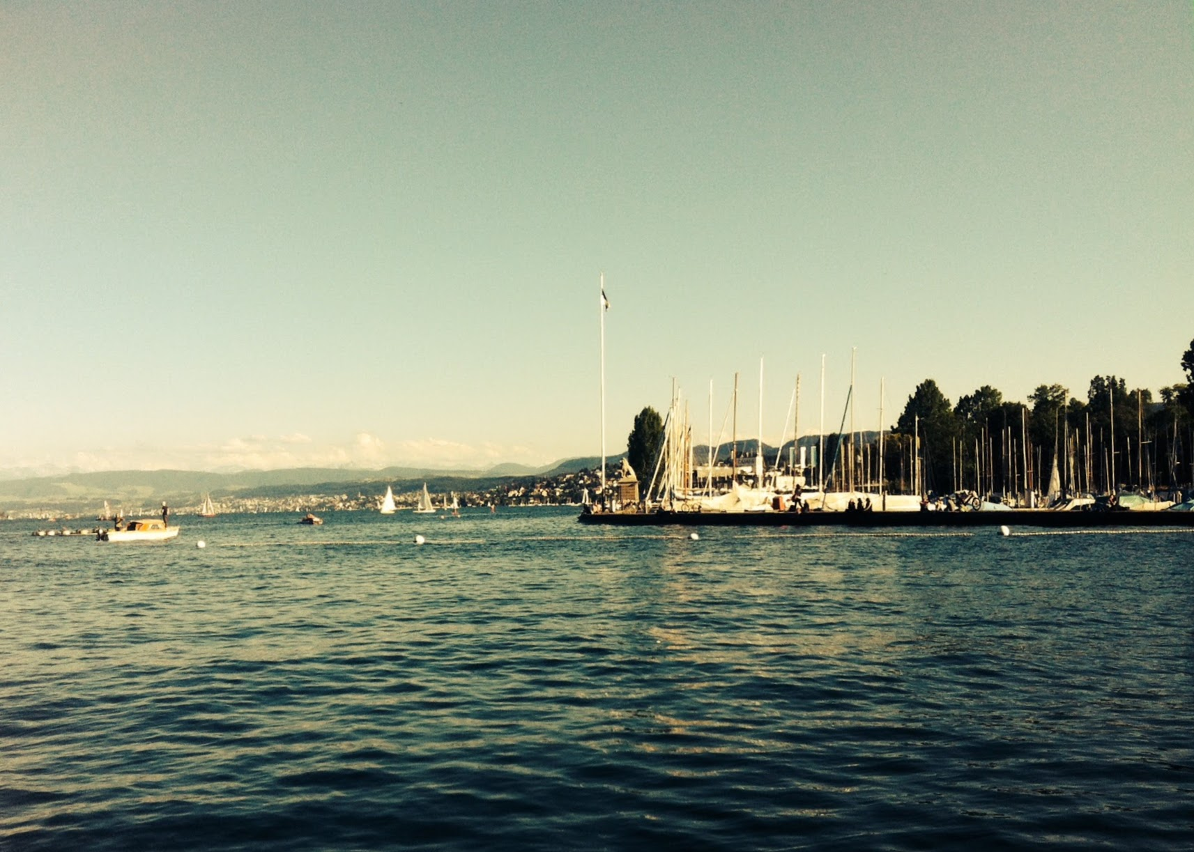 Running route in Zurich - Enge